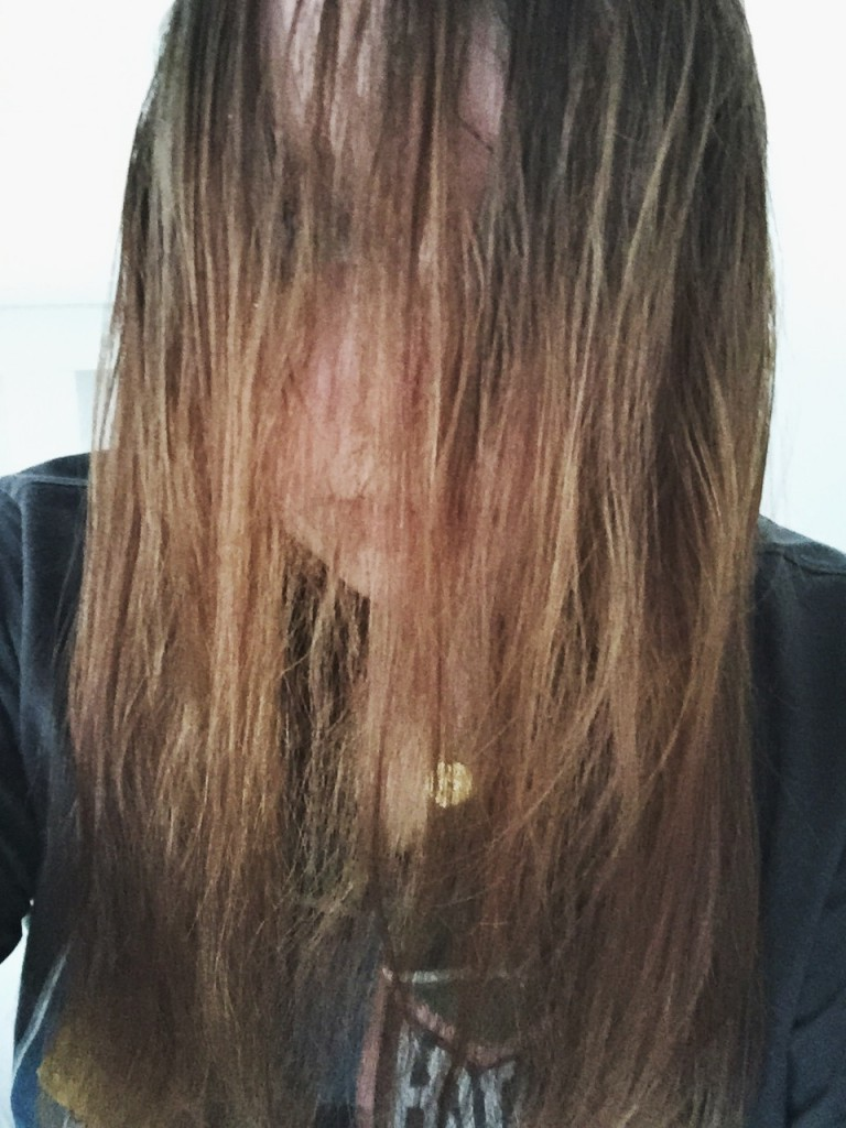 I look like I belong in 'The Ring'