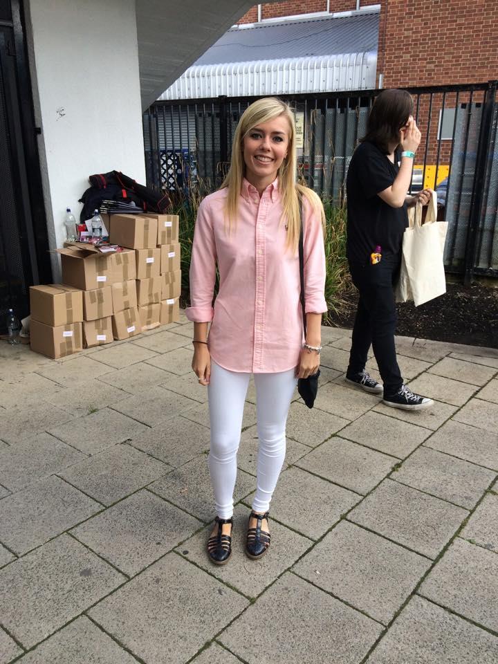 Megan, Third year Management