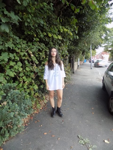 Ivy, second year economics student, believes student style is 'quirky and fickle'.