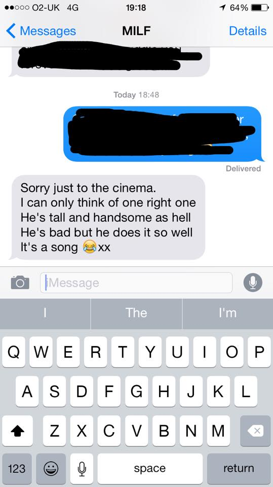 When asked for a quote for The Tab this was her response