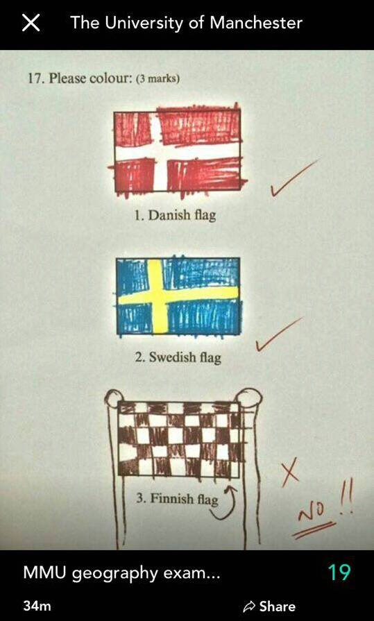 Do they even know where Finland is?