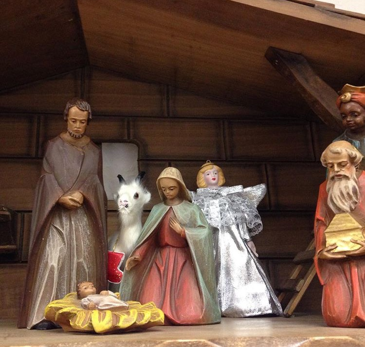 The Nativity scene isn't the same without it's star of the show
