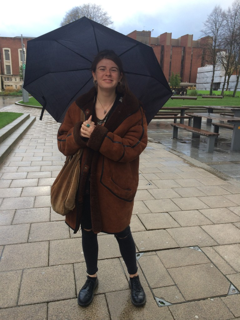 Daisy, first year Social Anthropology