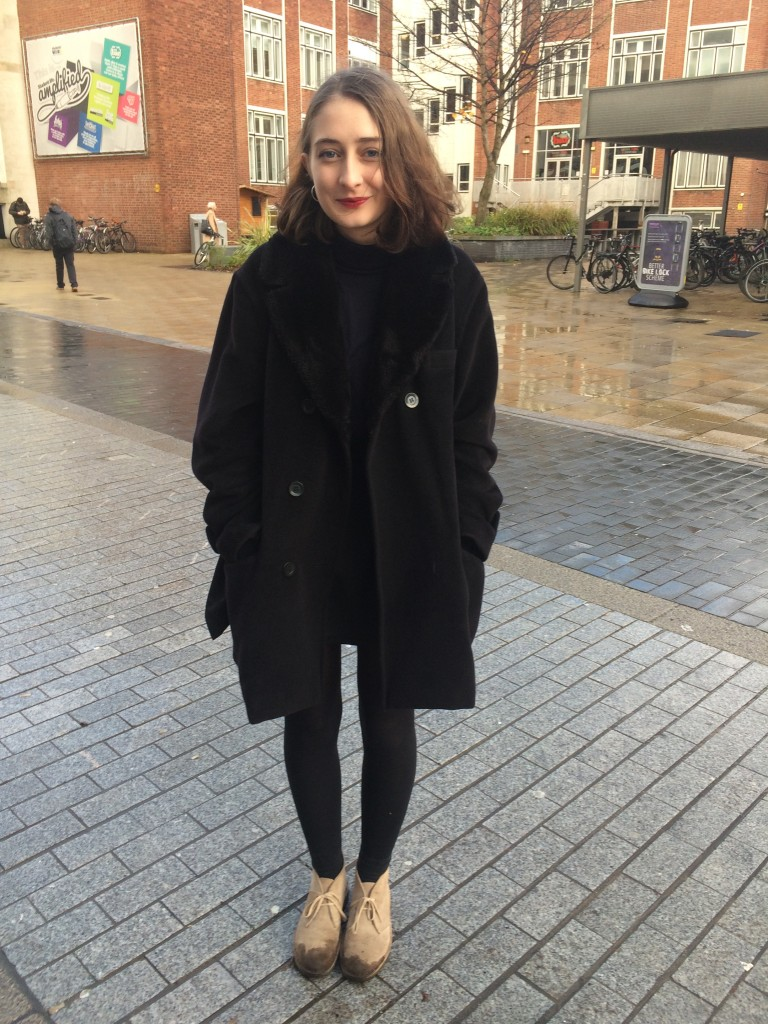 Hannah, second year History