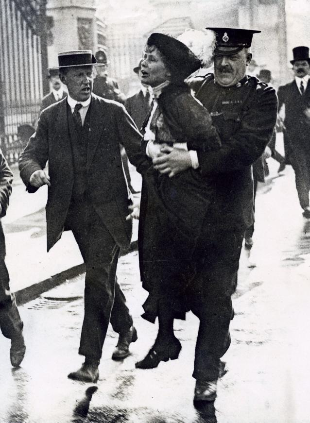 Pankhurst fought for women's rights from 1903-1928.