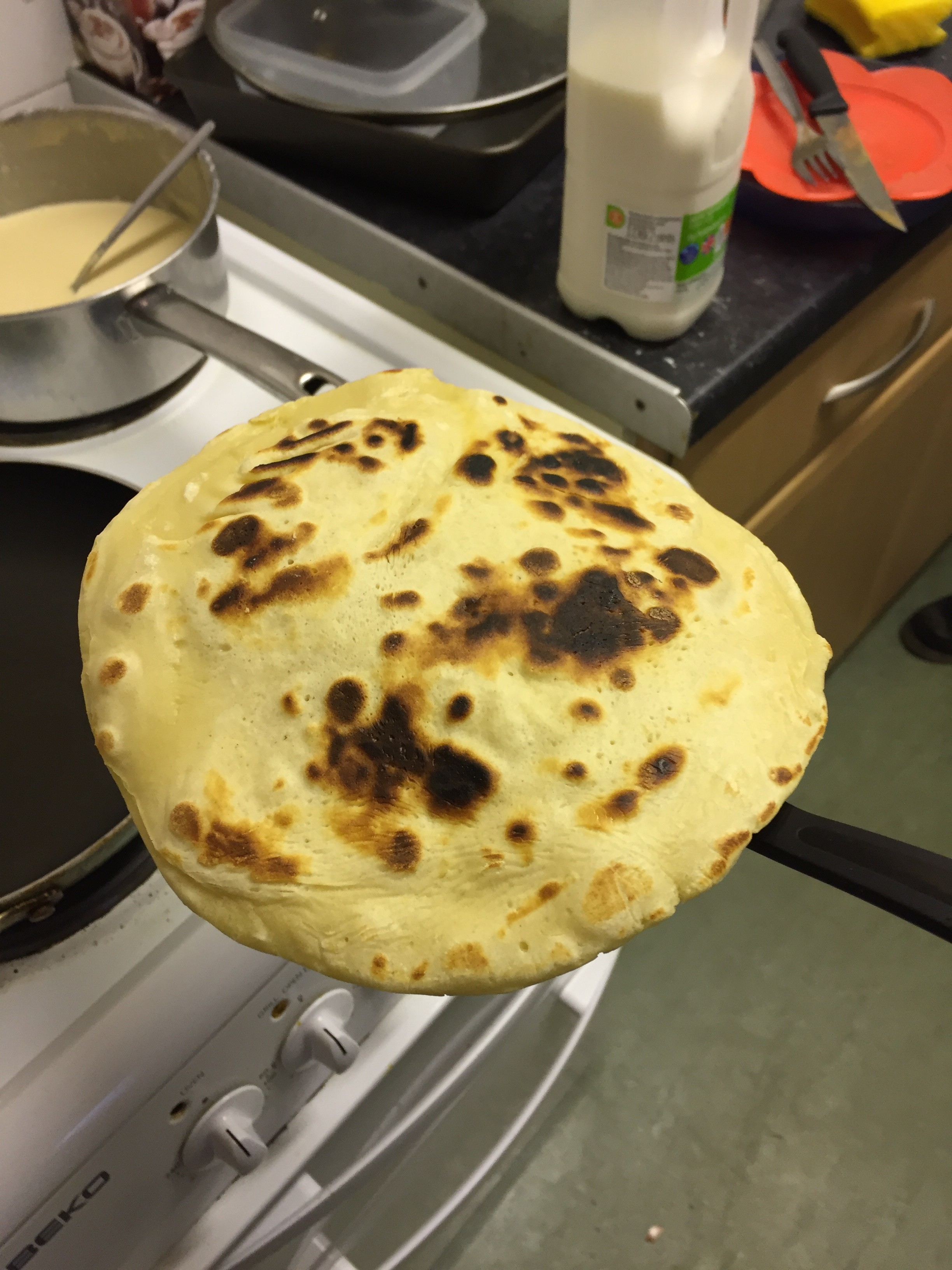 Got any curry to go with that Naan bread?