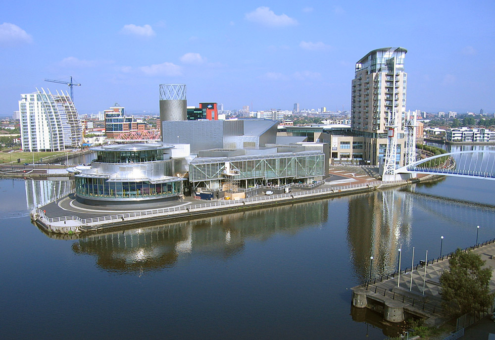 Salford, where the incident took pace