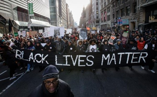 Many protests of this sort have taken place, following the recent shootings of Alton Sterling and Philando Castile.