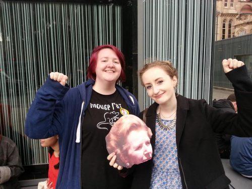 Lauren McCourt and Freya Blake. Photo: Lauren McCourt