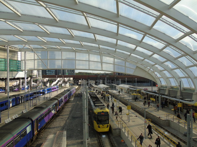 The station reopened last year following a £44m upgrade, which included a new roof.