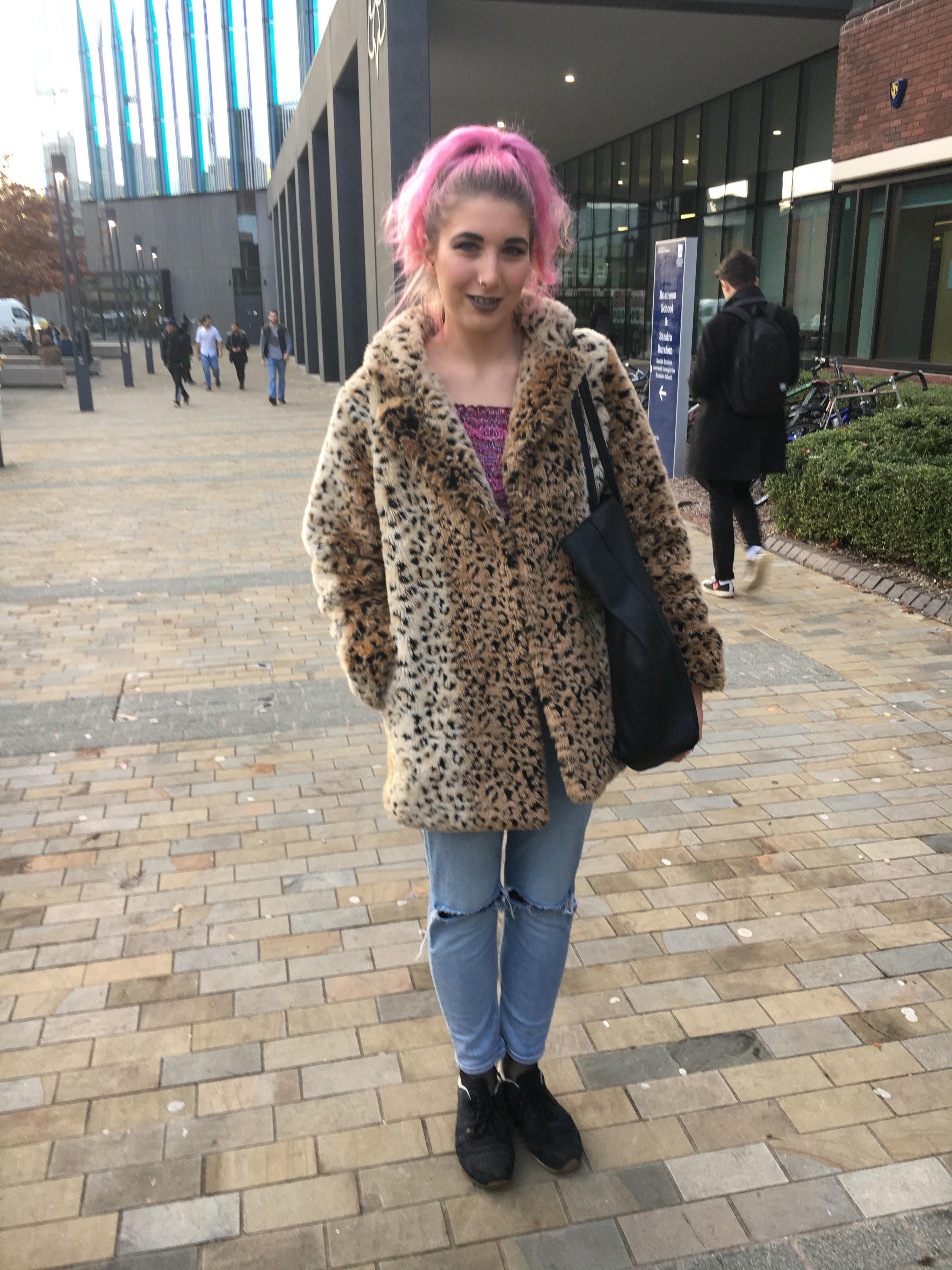 Amber, 20, Politics and International Relations