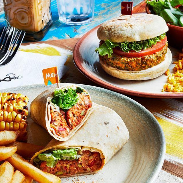 Image may contain: Burger, Bowl, Sandwich, Taco, Food