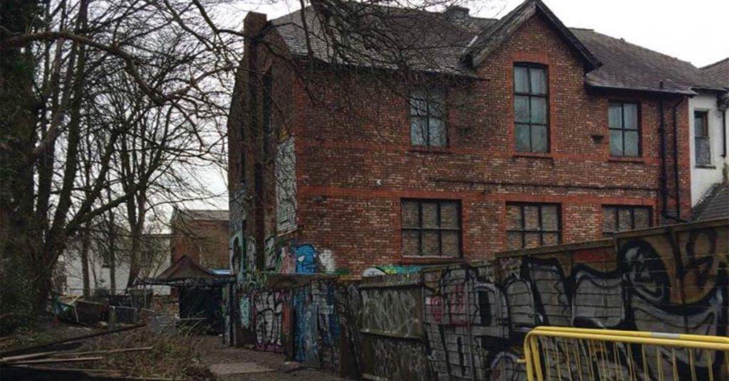 Image may contain: Brick, Graffiti, Shelter, Shack, Rural, Outdoors, Nature, Hut, Countryside, Building