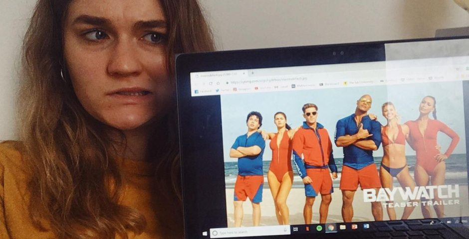56b10512d1ef Seven Manchester students had their IT accounts suspended for illegally  downloading Baywatch last year