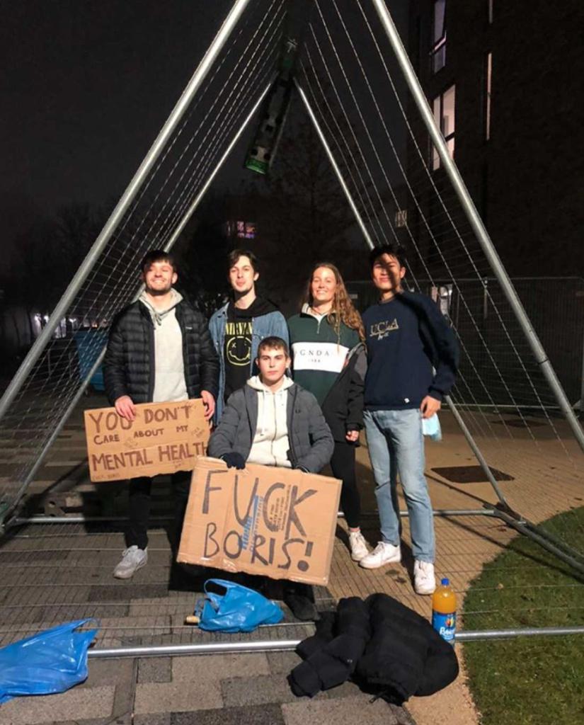 Boris didn't back the tuition fee