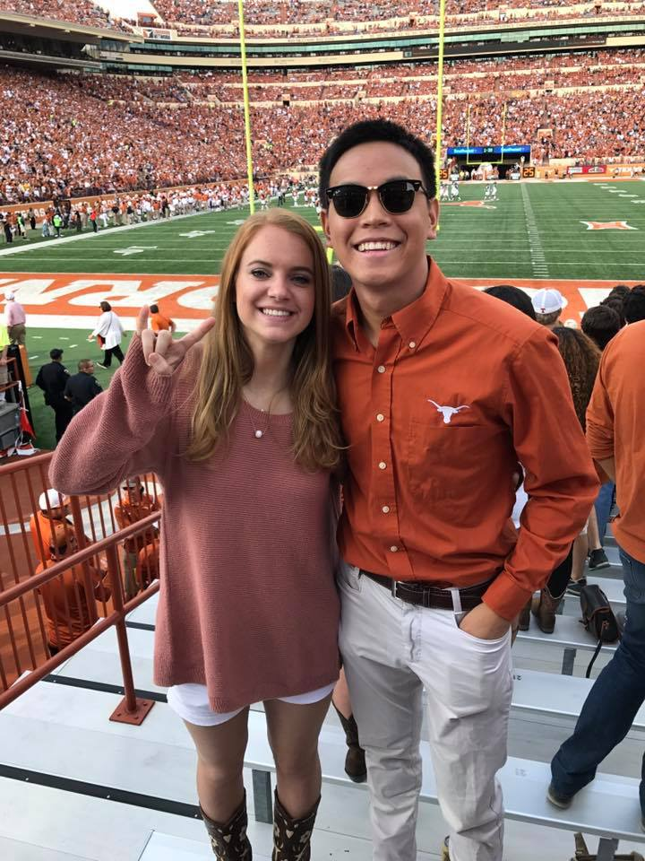 Hendrick Liaw, creator of the Harrison Brown Memorial Fund after the UT Austin knife attack