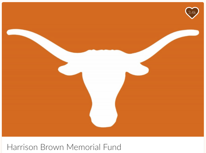 Harrison Brown Memorial Fund for the UT Austin knife attack