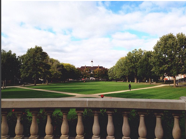 Can't deny the beauty of the quad.