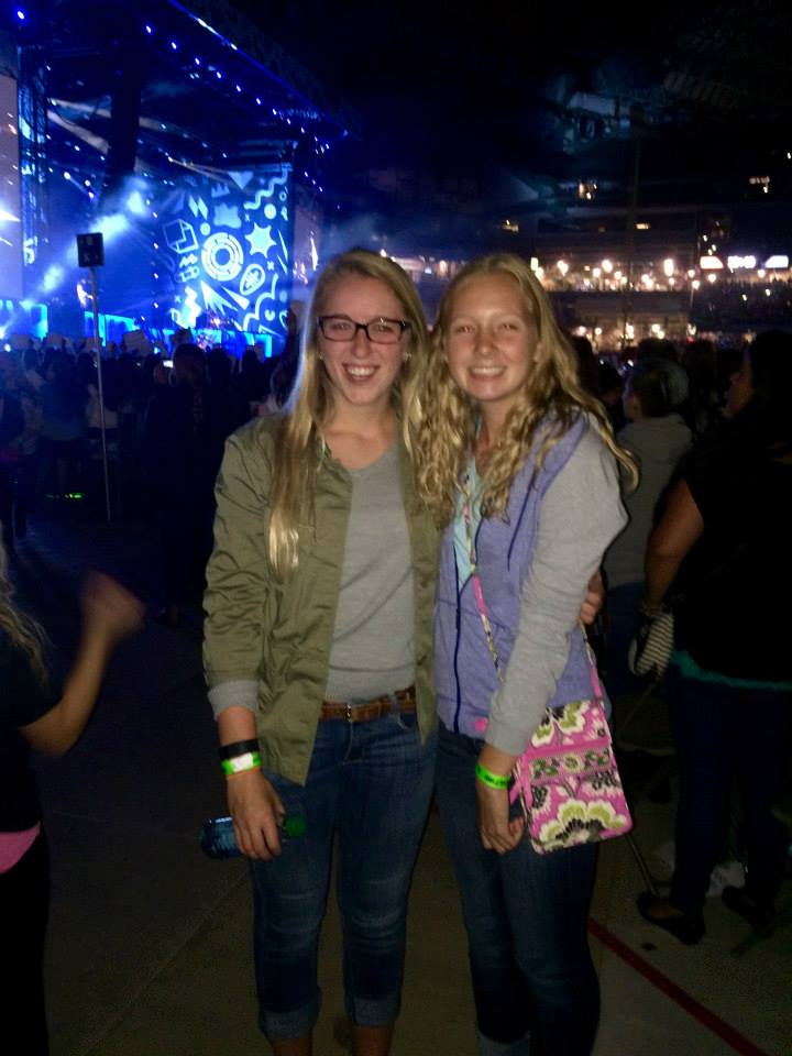 Right after I sobbed through some of One Direction's songs because I was so in love with them at their concert in Milwaukee FUN ✔️