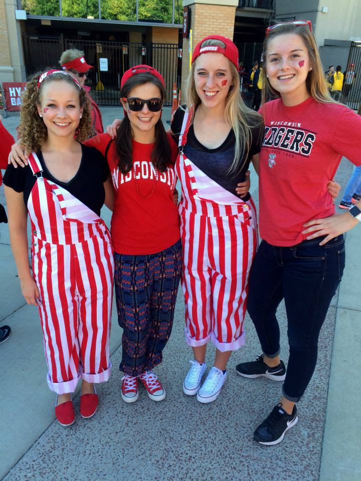 ON WISCONSIN!!!!! GAME DAYS ARE THE BEST DAYS