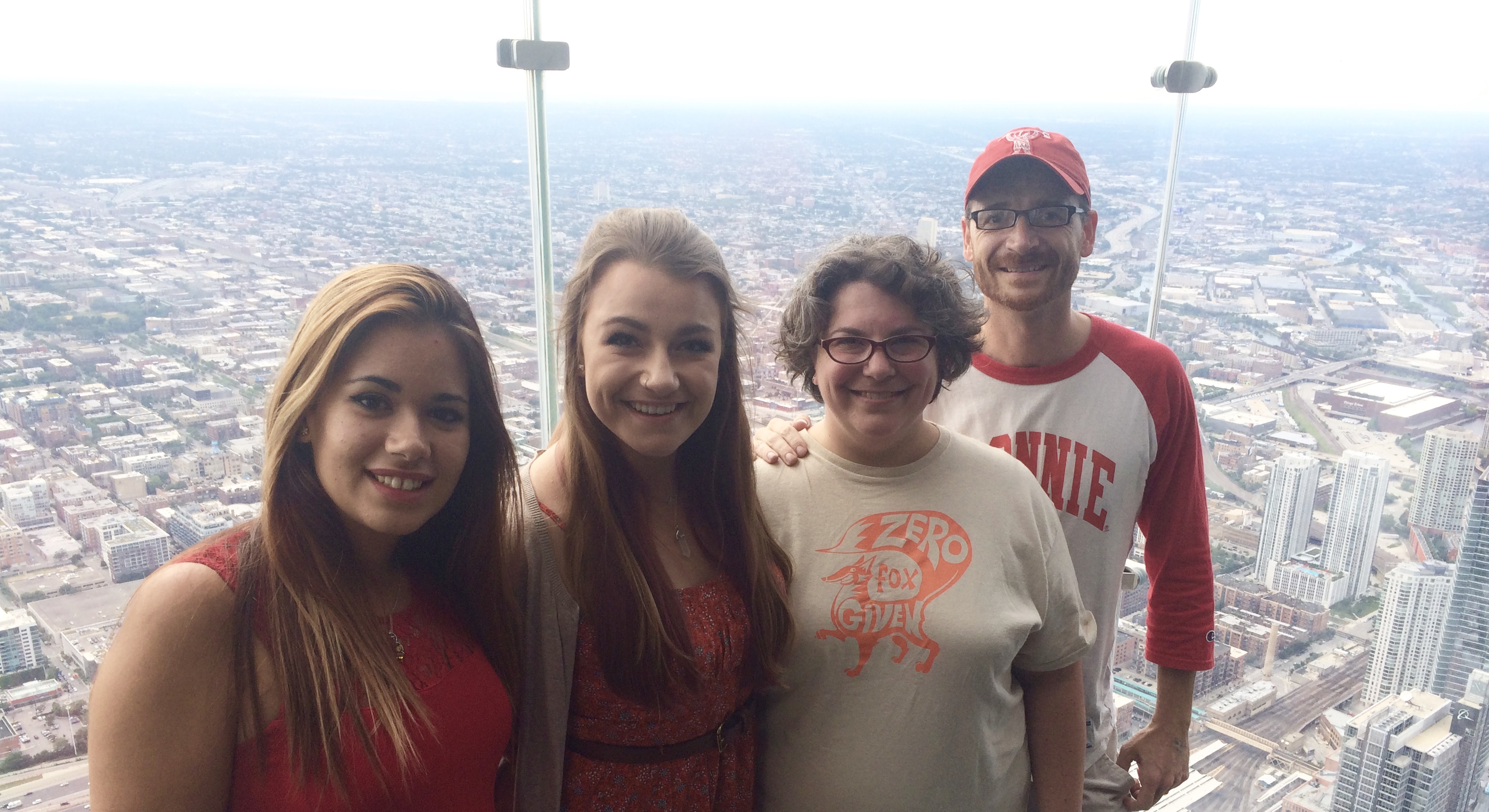 103 floors up seemed a good place to start
