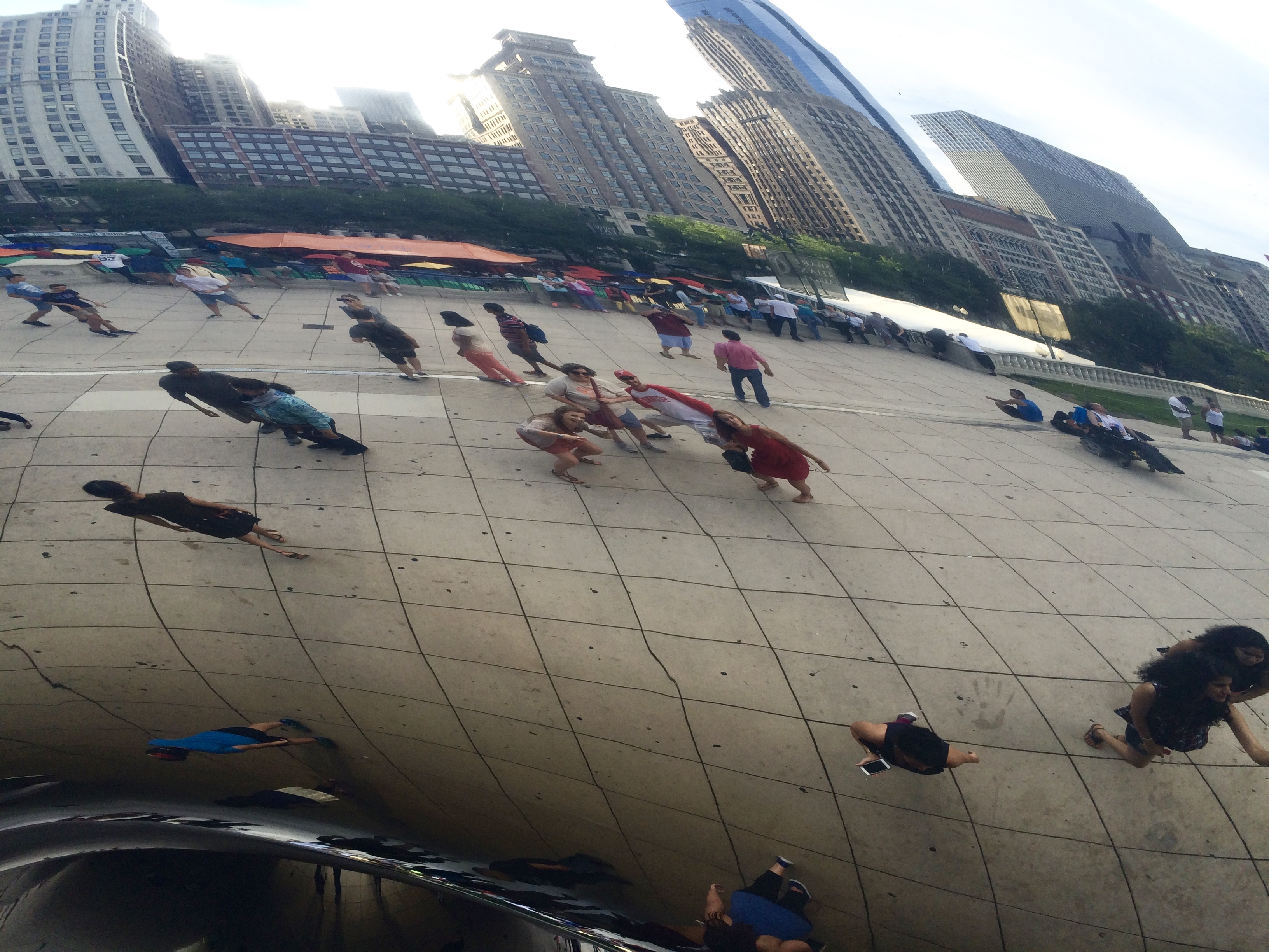 She got a kick out of the 9,000 photos we took at the bean (which apparently was in an American movie she had seen)