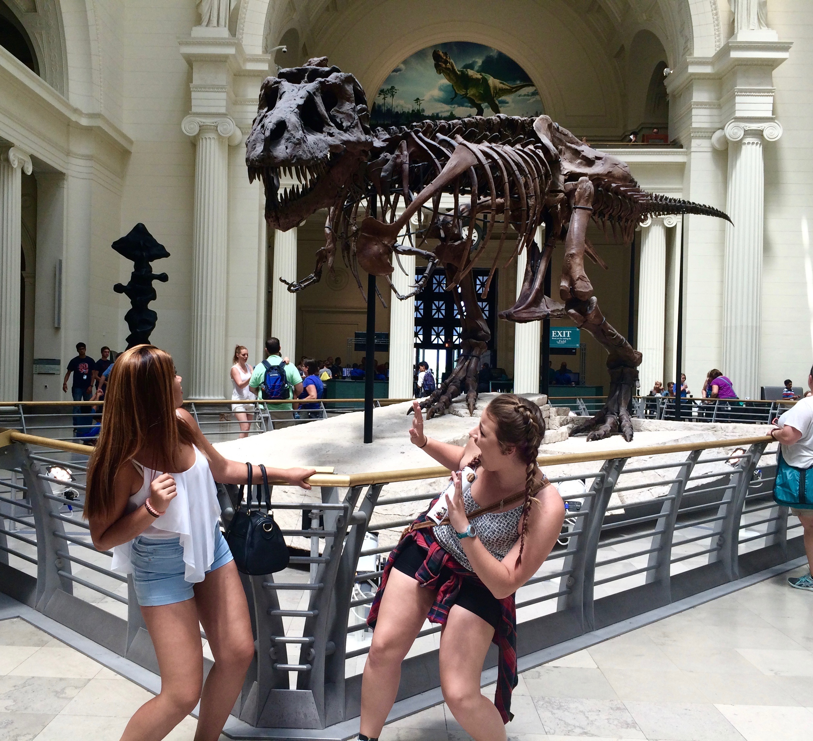 And what's a trip to Chicago without a visit to the field museum...