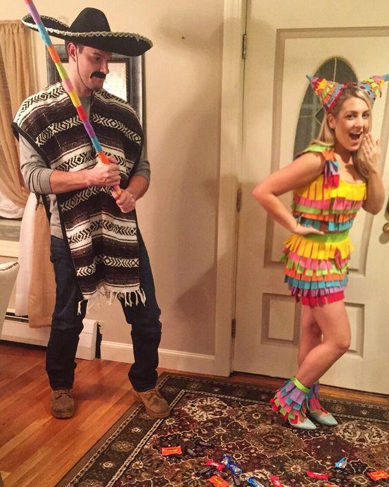 diy-couples-halloween-costume-ideas-mexican-theme-pinata-couples-costume-idea-for-a-cinco-de-mayo-halloween