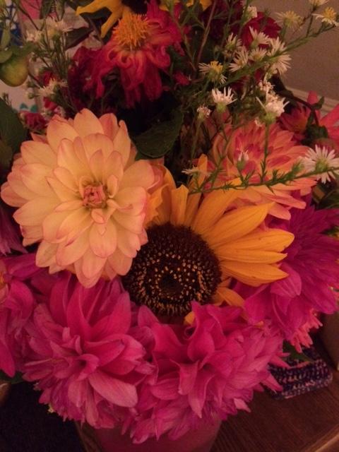 I bought myself flowers because Im worth it