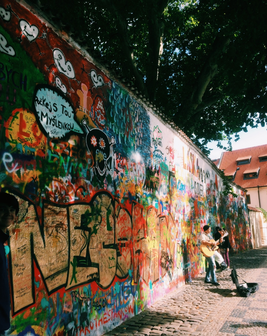 Write on the Lennon Wall