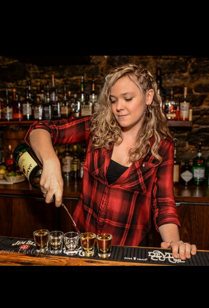 Brittany Behind the Bar
