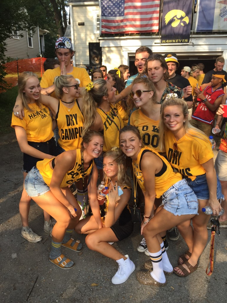 the university of iowa is the best place to be a freshman