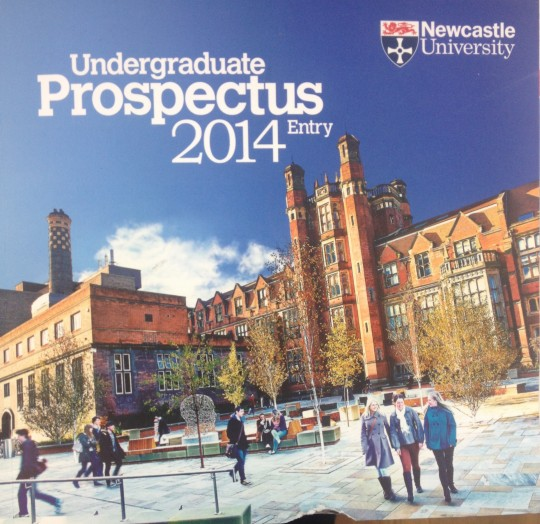Newcastle University Prospectus Vs Reality