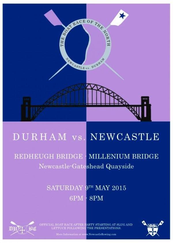 Newcastle vs Durham boat race