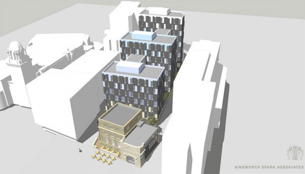 What the new student accommodation will look like