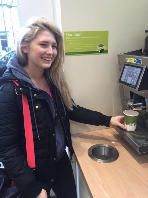 White girl latte - the Waitrose dream