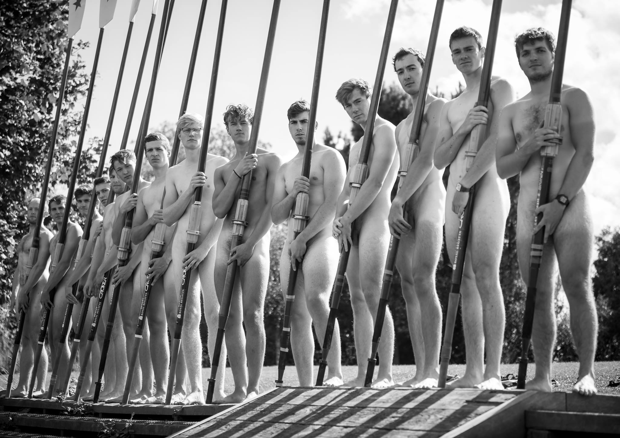 The Naked Rowers Full Frontal For Charity