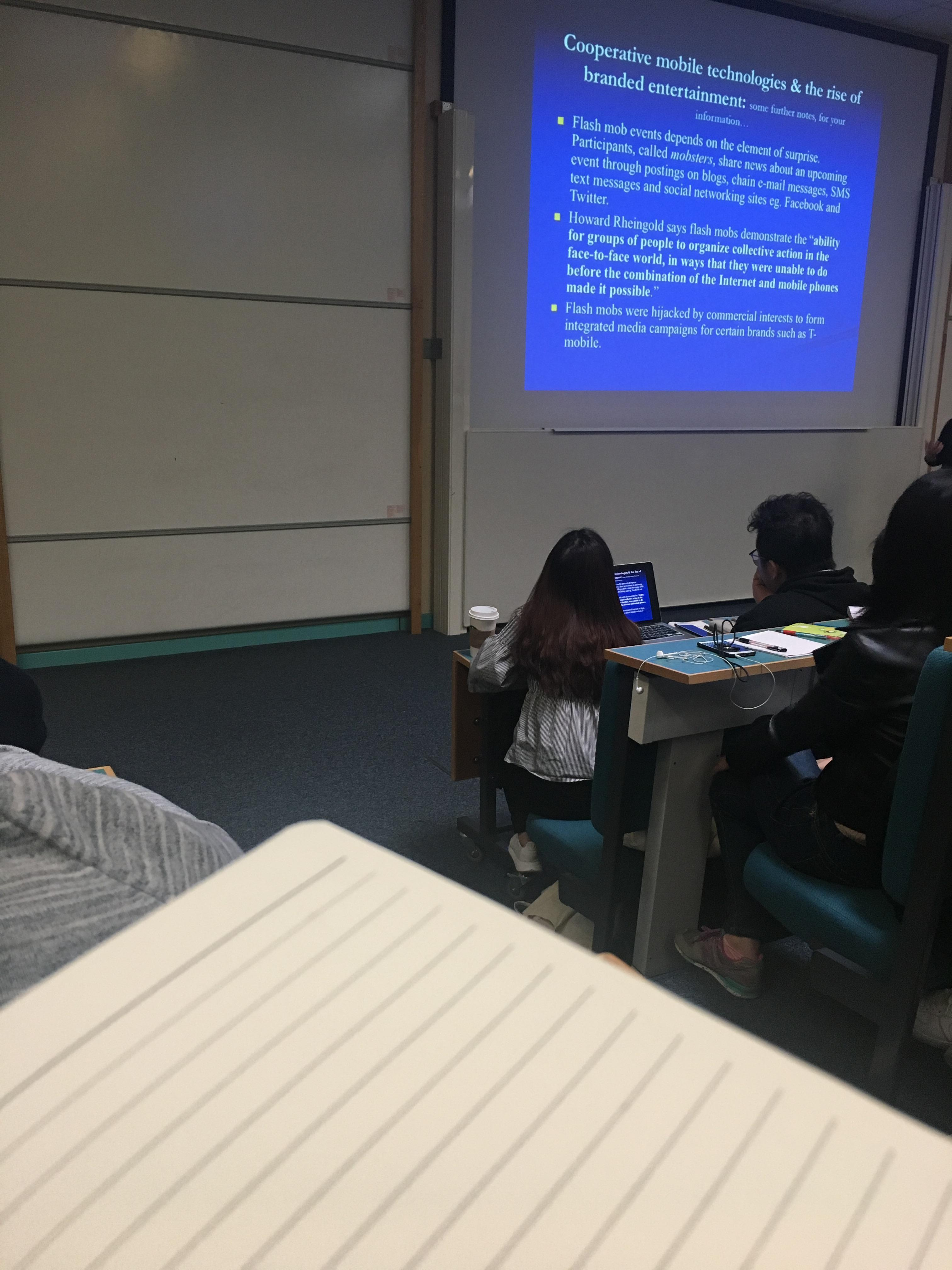 Lectures never change