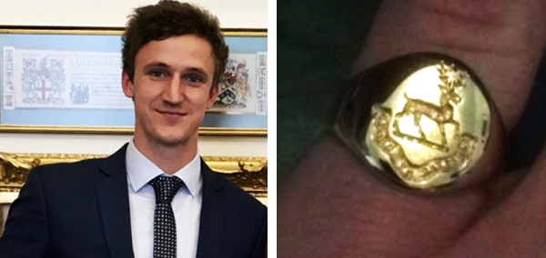 Exeter University Signet Ring