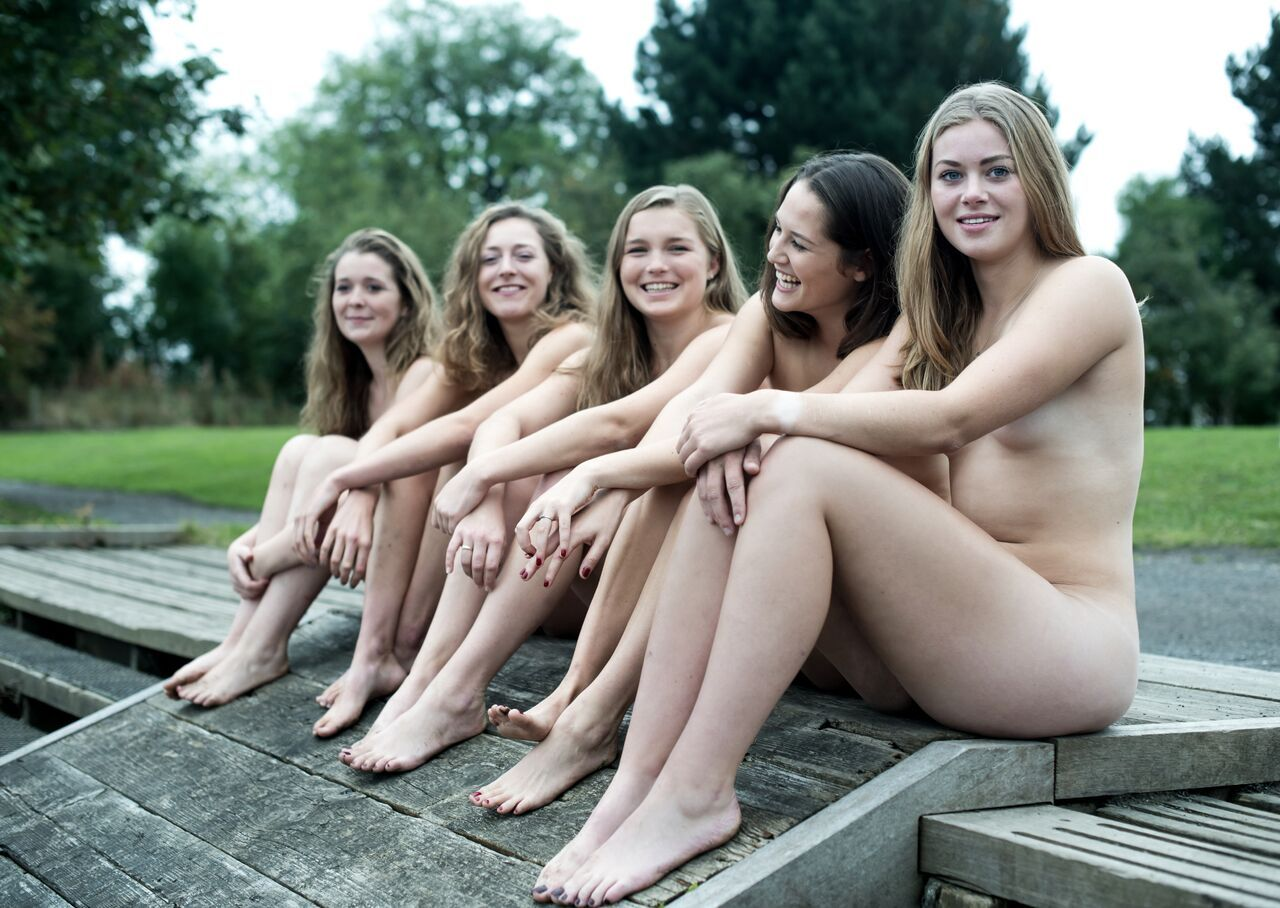 Naked womens boobs in public