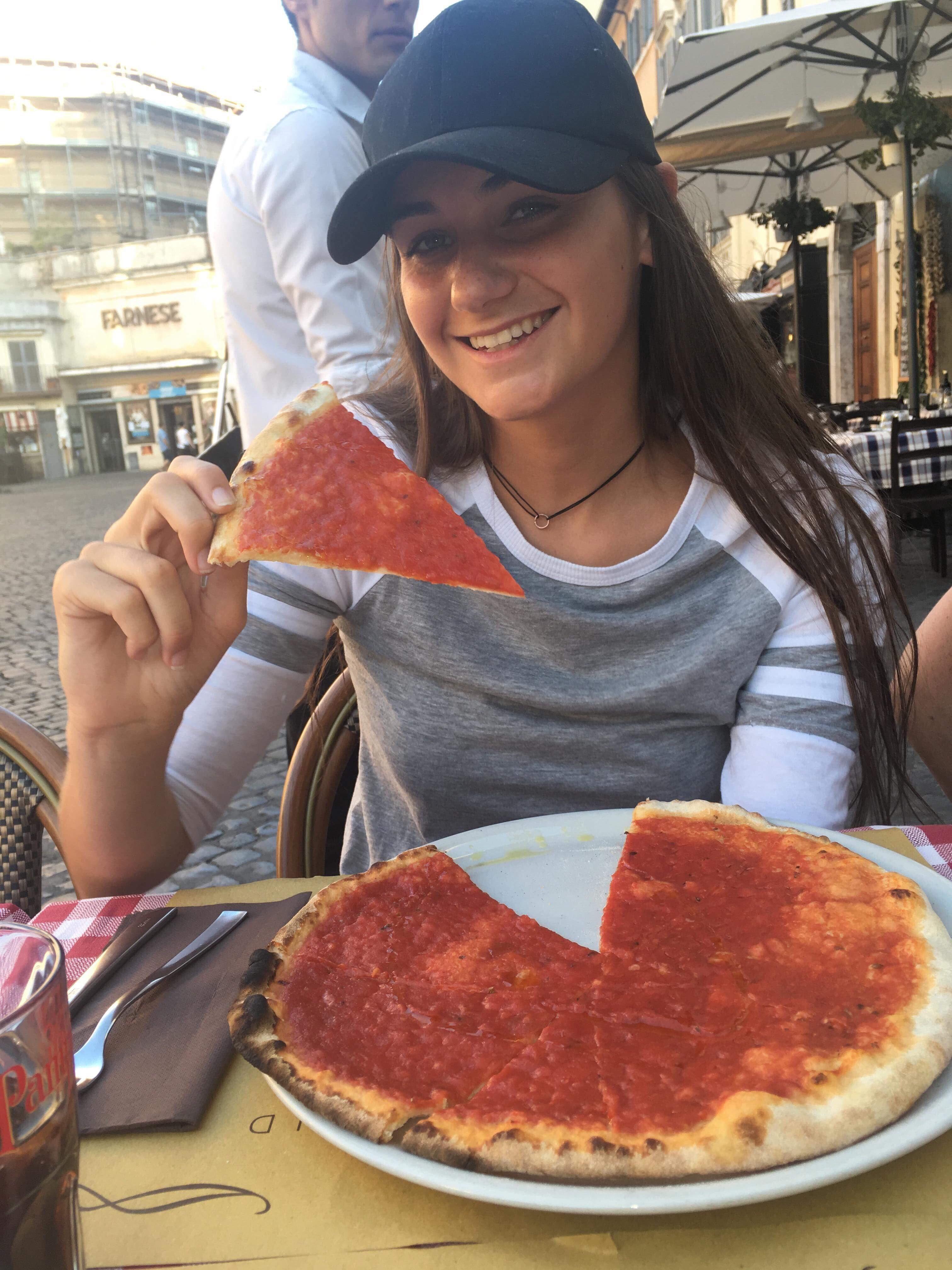 Image may contain: Pasta, Lasagna, Food, Person, People, Human