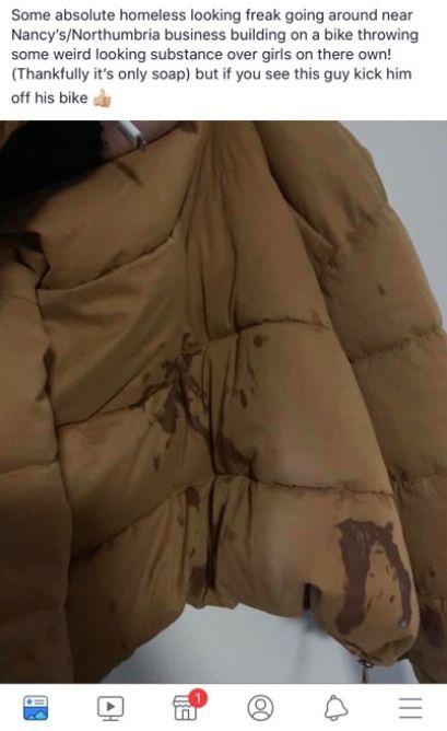 Image may contain: Khaki, Human, Person, Jacket, Coat, Apparel, Clothing