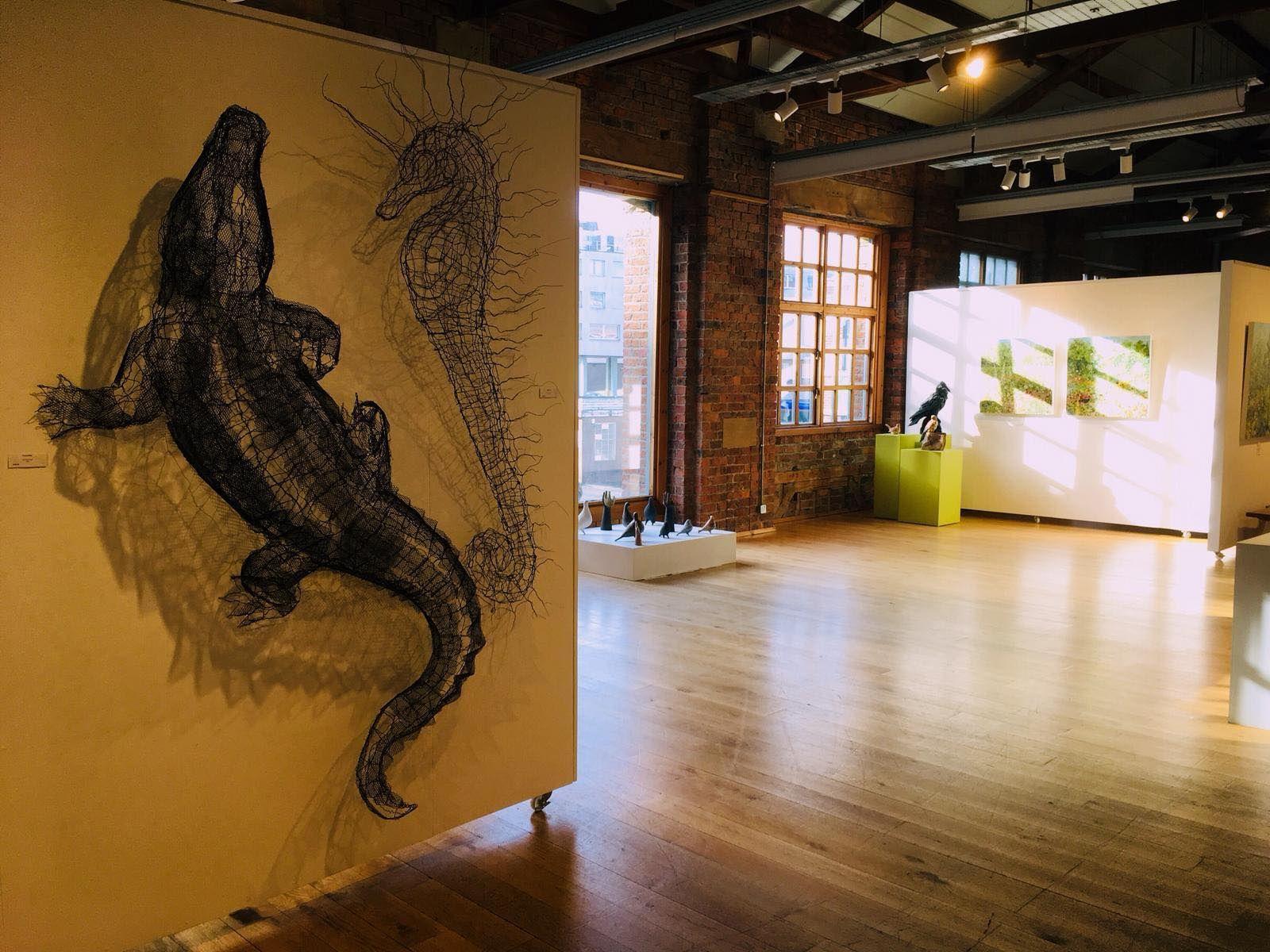 Image may contain: Indoors, Plywood, Painting, Art, Hardwood, Floor, Wood, Flooring