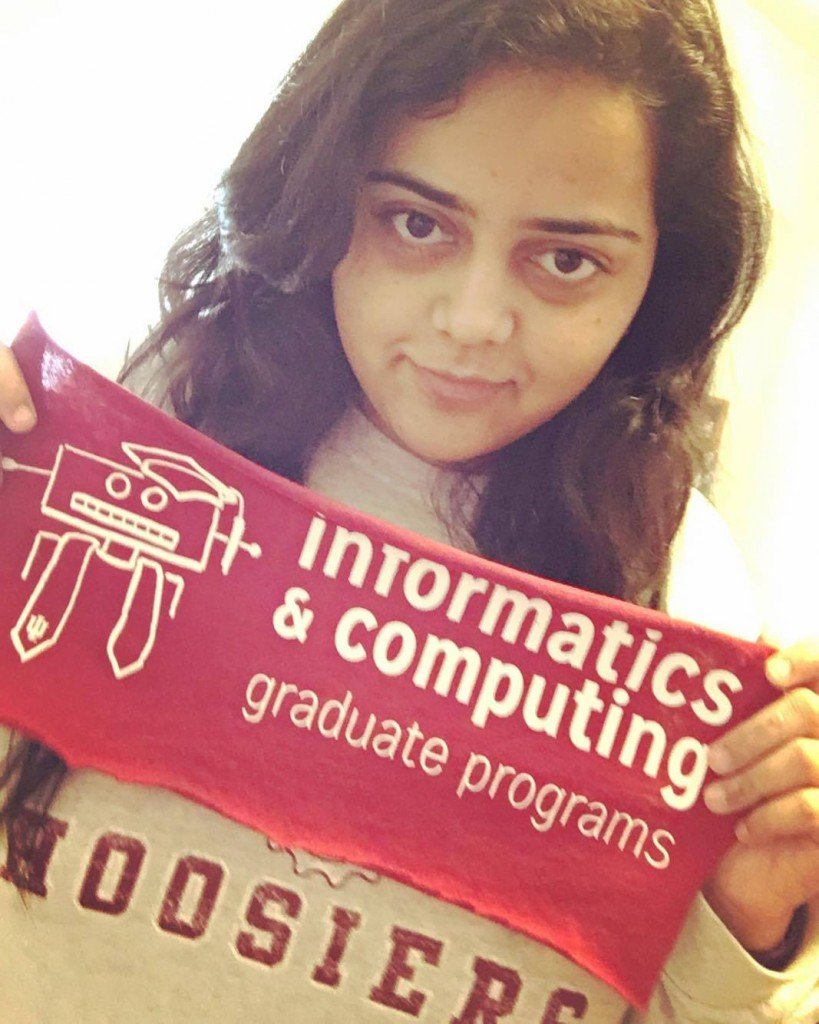 Me- A proud Hoosier and a proud Techie.