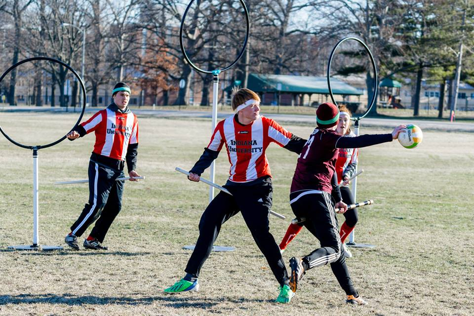 Quidditch Team in the Act