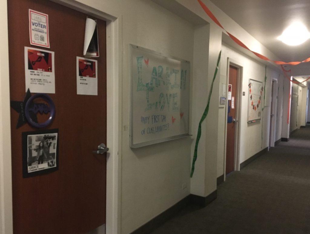 Generic College Hallway