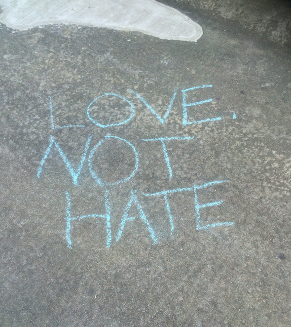 """Love Not Hate"""