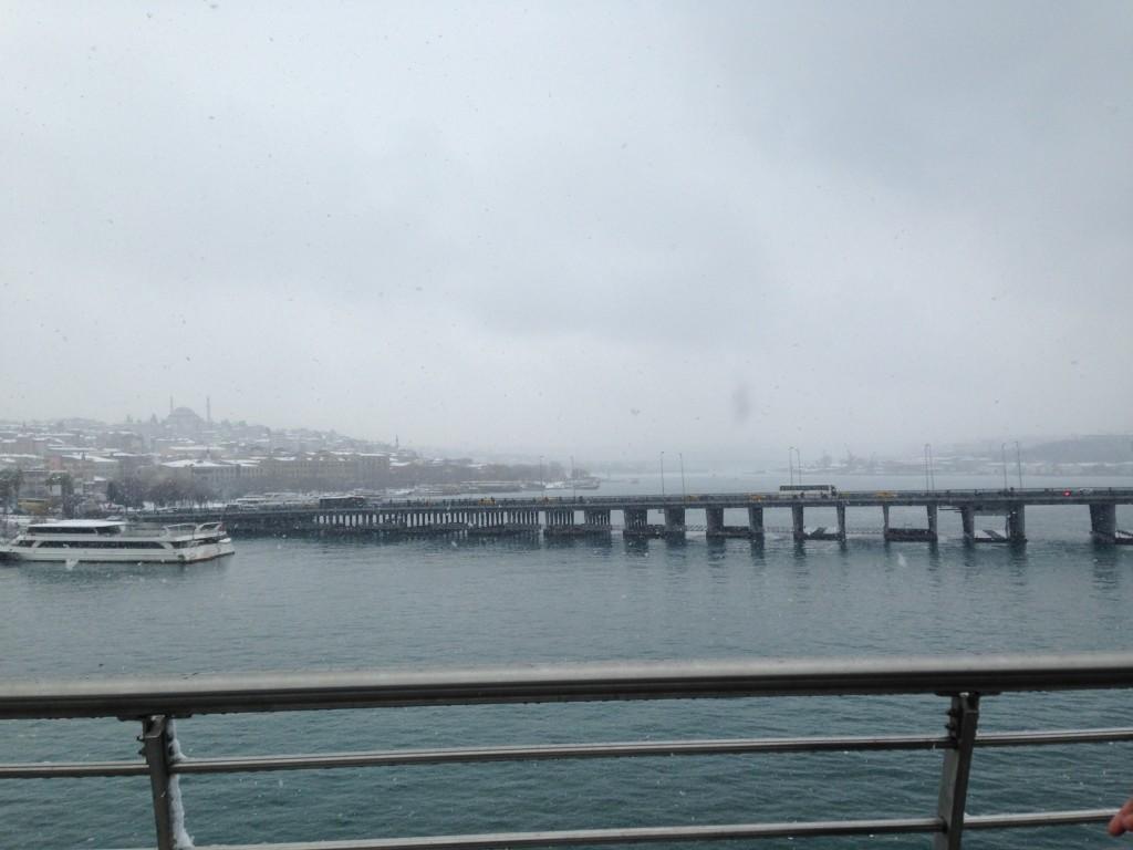 Snow over Halic