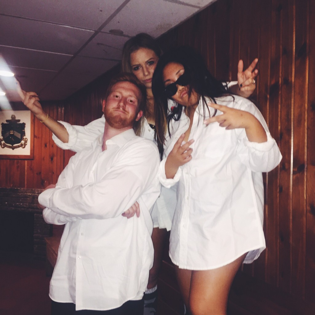 Risky business theme.. are you as shocked as I am?