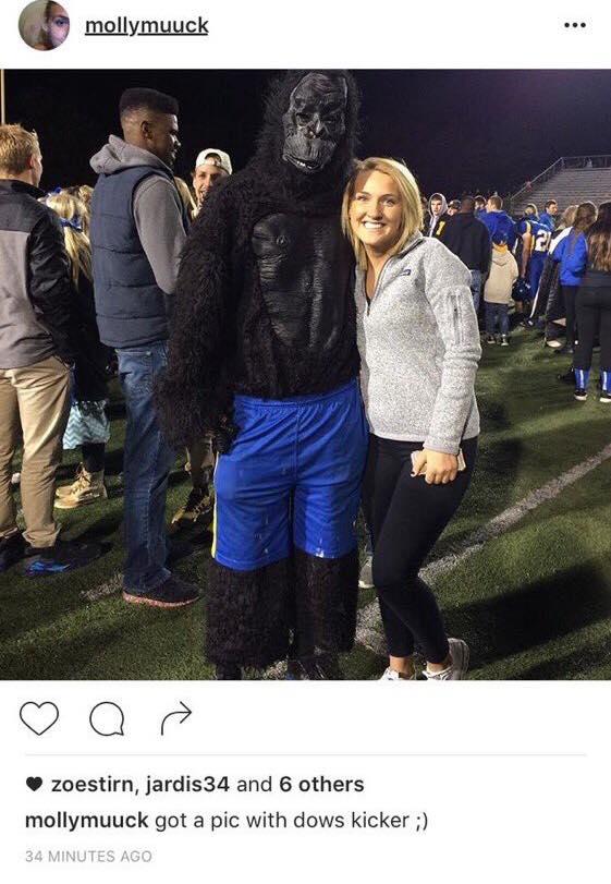 Muck's racist instagram post